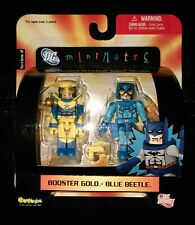 """Minimates DC C3 """"BOOSTER GOLD and BLUE BEETLE"""""""