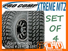 (SET OF 4) 265/75/16 PRO COMP XTREME MT2 MUD TERRAIN TYRES 32 INCH - BAYSWATER