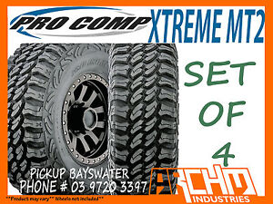 (SET OF 4) 285 75 R16 (33inch) PRO COMP XTREME MT2 MUD TERRAIN TYRES - BAYSWATER