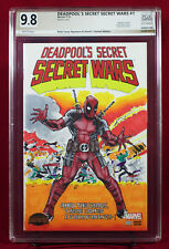 DEADPOOL PGX (not CGC) 9.8 NM/MT Original Sketch Cover by BRIAN LACY !!!