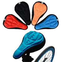 Cycling Bike Bicycle Extra Comfort Silicone Seat Saddle Cover Pad Gel Cushion US