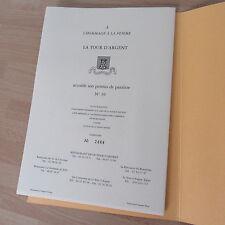RESTAURANT LA TOUR D'ARGENT HOMMAGE A LA FEMME NUMEROTE 1995