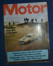 """September Motor Cars, 1970s Magazines"""""""