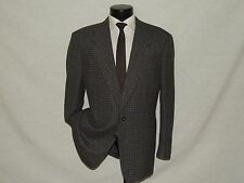 D-725 ~ CANALI Proposta men's Classic 2 Button ventless sports jacket 42 R