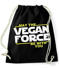 Mochila / Bolsa May The Vegan Force Be With You  backpack - bag