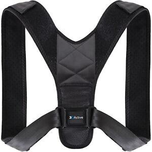 3DActive Posture Corrector for Men Women Unisex Adjustable Universal Fit Back