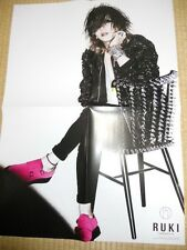 the GazettE RUKI PSC Visual-Kei POSTER  JapanLimited! ! shoxx2013July
