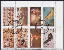 Indien Nagaland Sport Olympiade Montreal Kanada Kleinbogen 1976, gest., used