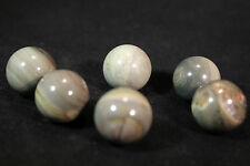 (1) Silverlace Mineral Marble Sphere 19-20mm (LISTING IS FOR 1 SPHERE!)