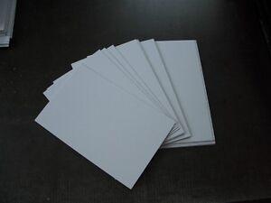 Pappe weiß Bastelkarton A4 10 St.weiß glänzend /grau 0.7 mm