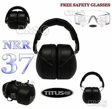 HIGHEST AVAILABLE PROTECTION 37 NRR SHOOTING FIRING RANGE EARMUFFS EAR HEARING