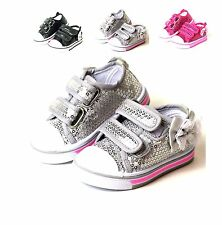 New Infant And Baby Toddler Girls Slip On Dress Shoes 3 Colors Size 2-9