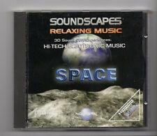 (JN353) Cybertracks Ltd NVRCD 703: Soundscape, Space - new not sealed CD