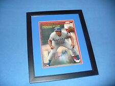 Ron Santo Chicago Cubs(PROFESSIONALLY FRAMED)auto/signed Sports ILL.-6/30/69-JSA