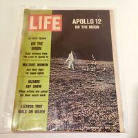 VTG Life Magazine: December 12 1969 - Apollo 12 On The Moon/Militant Women