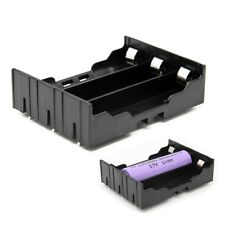 DIY 3-Slot 18650 Battery Holder With Pins