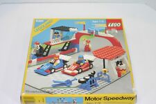 LEGO Town System 6381 Motor Speedway 100% COMPLETE RARE 1987