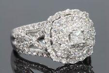 10K WHITE GOLD 2 CARAT WOMEN REAL DIAMOND ENGAGEMENT RING WEDDING RING BRIDAL