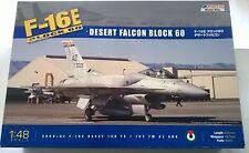 KIT KINETIC 1:48 AEREO F-16 E BLOCK 60 DESERT FALCON BLOCK 31,6CM  48029  K48029