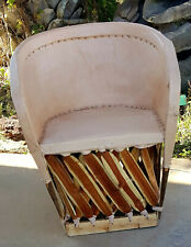 Mexican Equipale Standard Leather Chair - Natural