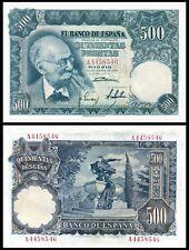 Facsimil Billete 500 pesetas 1951 - Reproduction