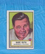 BABE RUTH 1952 LOOK N SEE #15 BABE RUTH TOUGH NEW YORK YANKEES
