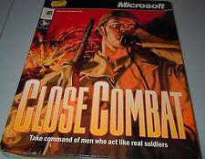 Close Combat 1 (PC: mac,  Windows, 1995) - UK  BIG BOX Version Rare