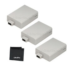 3x LP-E5 LPE5 Battery + BONUS for Canon EOS 1000D 450D 500D