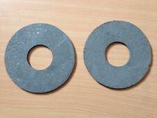 2 TRACTOR  PTO CLUTCH DISCS 127mm OD x 45mm ID