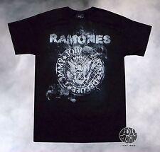 New The Ramones Men's Presidential Seal Smoke Vintage Classic  T-shirt