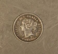 1885 Canada 5 Cent Silver Nice !    ** Free U.S. Shipping **