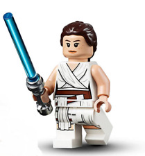 LEGO Rey Minifigure Figure w/ Lightsaber from Star Wars Rise Skywalker set 75250