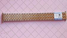 BRACELET MONTRE ACIER  /  / WATCH BAND  18mm //  bicolore   // REF SL25