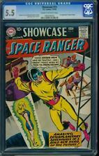 Showcase 15 CGC 5.5 Silver Age Key DC Comic 1st appearance Space Ranger L@@K