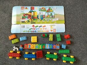 LEGO Duplo Number Train (10558), in excellent used condition.