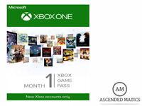 XBOX GAME PASS ABBONAMENTO MENSILE 1 MESE 30 GIORNI - SOLO NUOVI ACCOUNTS