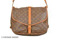Louis Vuitton Monogram Saumur 35 Shoulder Bag M42254 - YH00069