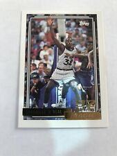 New listing 1992-93 TOPPS GOLD SHAQUILLE O'NEAL RC ROOKIE PARALLEL MAGIC #362 Shaq