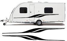 camping-car / Caravane VINYL Graphique Kit Stickers autocollant rayures #17XL