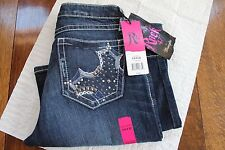 Wrangler Women's Jeans. Rock 47 Cover Girl WJX44CG Low Rise 5/6 X 32
