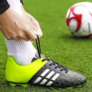 Soccer Shoes Cleats Football Shoes Kids Adults Men Training Sneakers Turf Sport