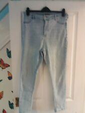 F&F size 14 light blue skinny stretch  jeans