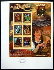 2001 MNH GAMBIA WIZARD OF OZ FDC STAMPS DOROTHY TOTO TIN MAN LION SCARECROW