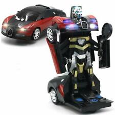 Bump & Go Battery Operated Transforming Action Autobot Car Transformer robot