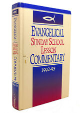 Pathway Press EVANGELICAL SUNDAY SCHOOL LESSON COMMENTARY 1992-93 1st Edition 1