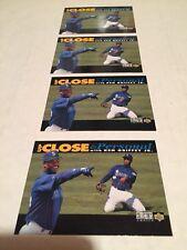 1993 Upper Deck Ken Griffey Jr. (4) Card Lot Up Close & Personal M/NM Look👀