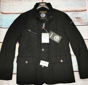 Napapijri chaqueta jacket men L black. lifestyle Última en stock!!