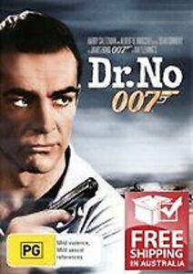 Dr. No DVD Movie JAMES BOND 007 Sean Connery Ursula Andress BRAND NEW R4