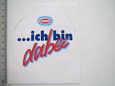 Aufkleber Sticker Zewa - ich bin dabei (7566)