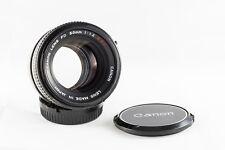 Objectif Canon FD 50mm f/1.4 SSC
